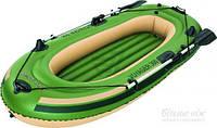 Лодка Bestway Voyager 300 65051B зеленый