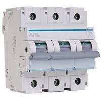 Автоматический выключатель Hager HLF390S   100A, 3п, С, 10 кА 4,5 места