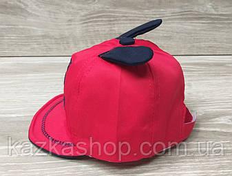 Детская кепка для мальчиков с вышивкой и ушками материал коттон, сезон весна-лето, на регуляторе, размер 46-48, фото 2