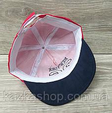 Детская кепка для мальчиков с вышивкой и ушками материал коттон, сезон весна-лето, на регуляторе, размер 46-48, фото 3