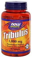 Повышающий тестостерон NOW TRIBULUS 1000mg 90  tabl