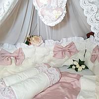 Комплект в кроватку, бортики, фото 1