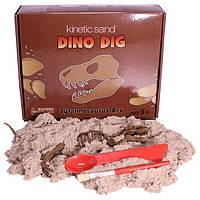 Кинетический песок в наборе Раскопки динозавра Dino T-Rех WABA Fun, фото 1