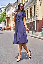 Женское хлопковое платье в горох (Люси jd), фото 3