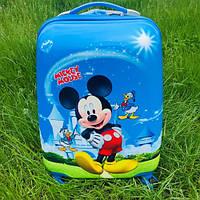 Детский чемодан на колесах Микки Маус (Disney), фото 1