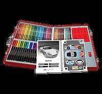 Набор для творчества в чемодане 62 предмета Crayola  Virtual Design Pro-Cars Set