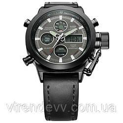Часы наручные армейские кварцевые АМST Strong black
