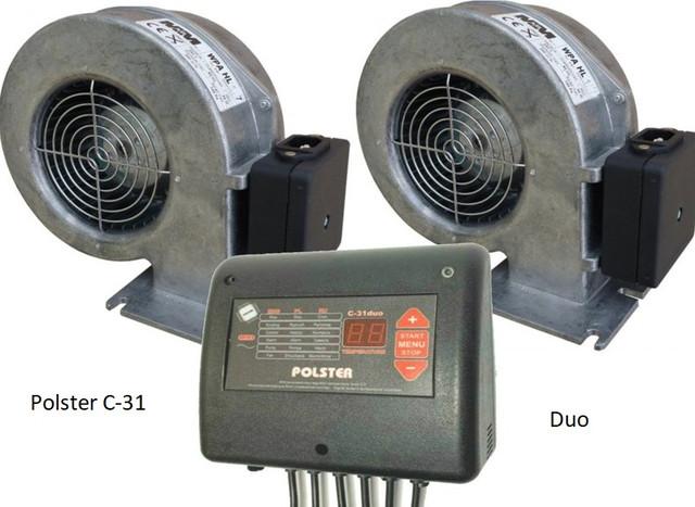 Автоматика Polster С-32 DUO на 2 вентилятора