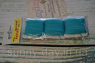 Акрил для вишивки, колір - бірюзовий