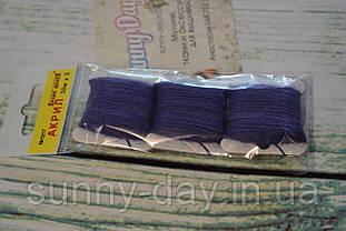 Акрил для вишивки, колір - нічний синій
