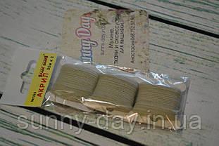 Акрил для вишивки, колір - блідо сіро-коричневий