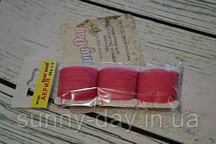 Акрил для вишивки, колір - малиново-рожевий