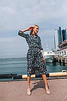 """Стильное платье """" Цветы """" Dress Code  , фото 1"""