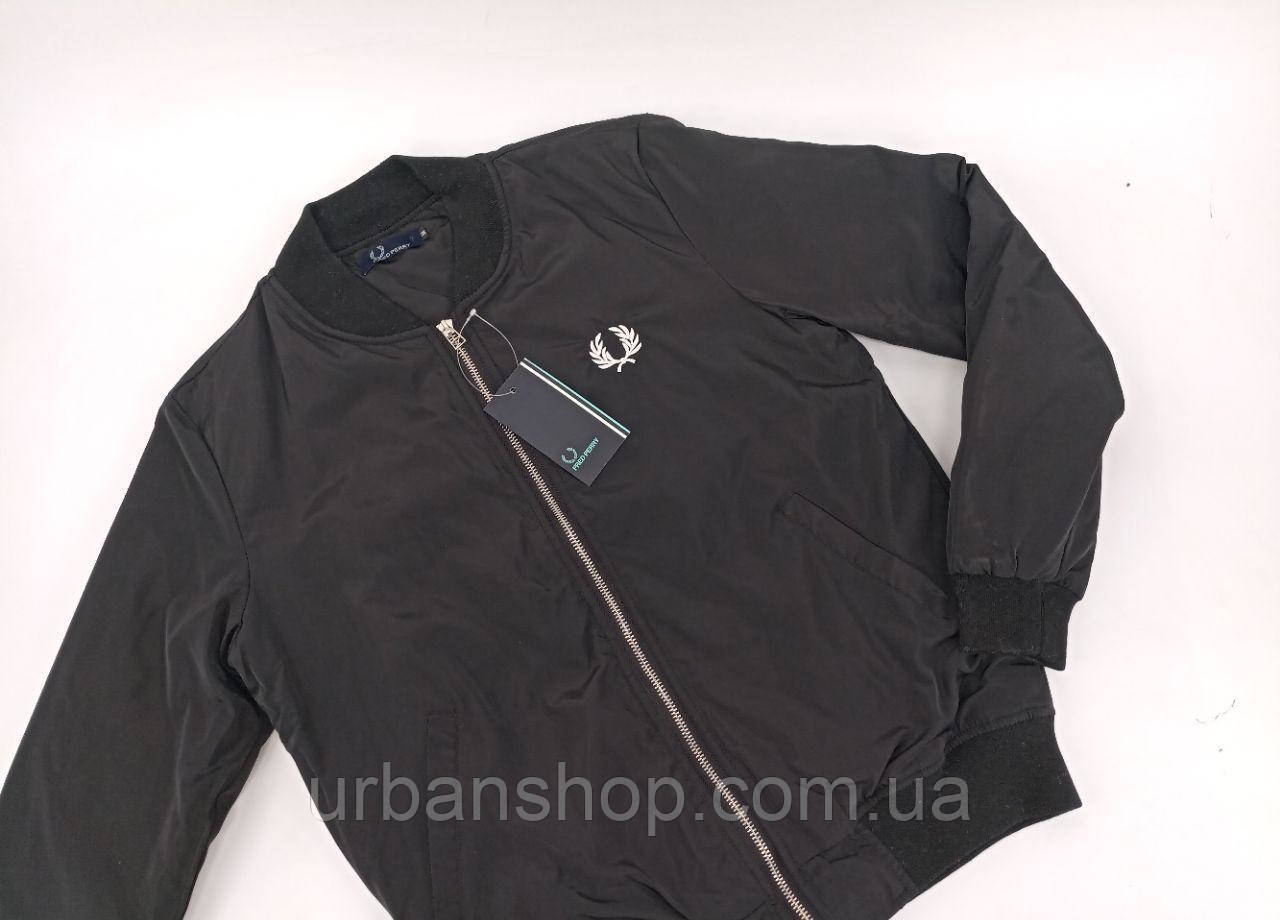 Бомбер Fred Perry black M