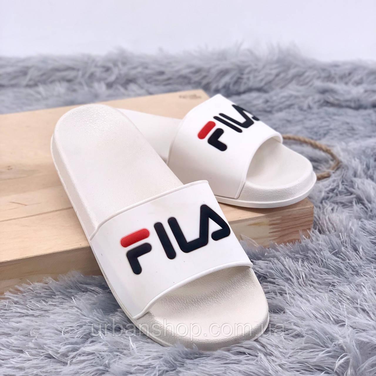 Взуття FILA Шльопки Fila White 36