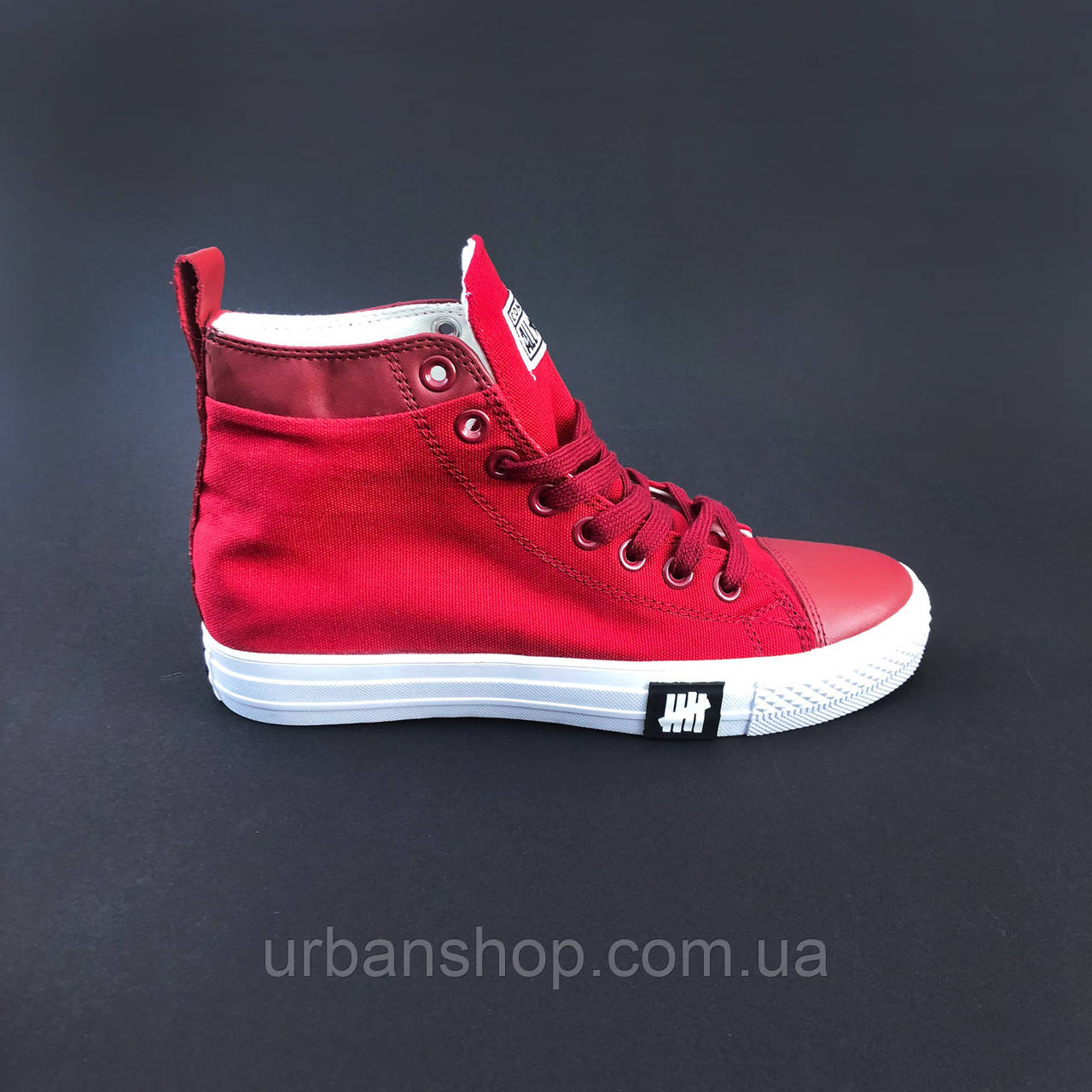 Взуття Converse x Undefeated High Red 36