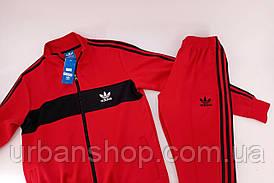 Спортивний костюм Adidas red/black (олімпійка) M