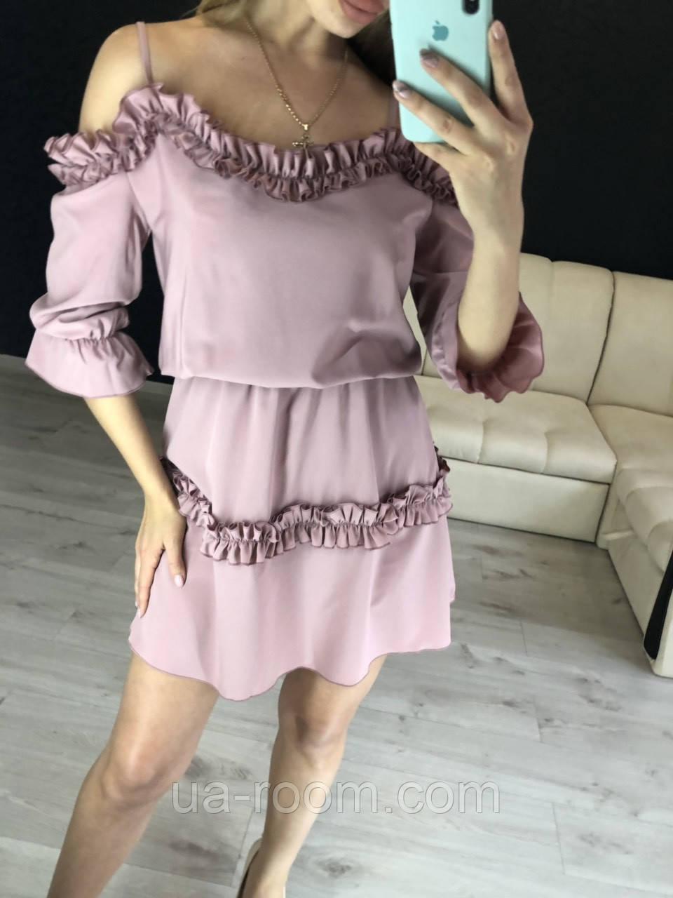 Женское платье из софта №548