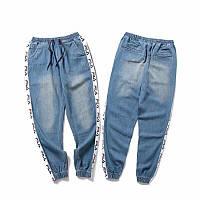 Штани FILA джинсові M, фото 1