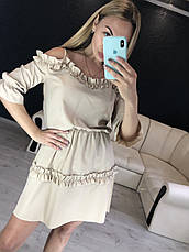 Женское платье из софта №548, фото 3