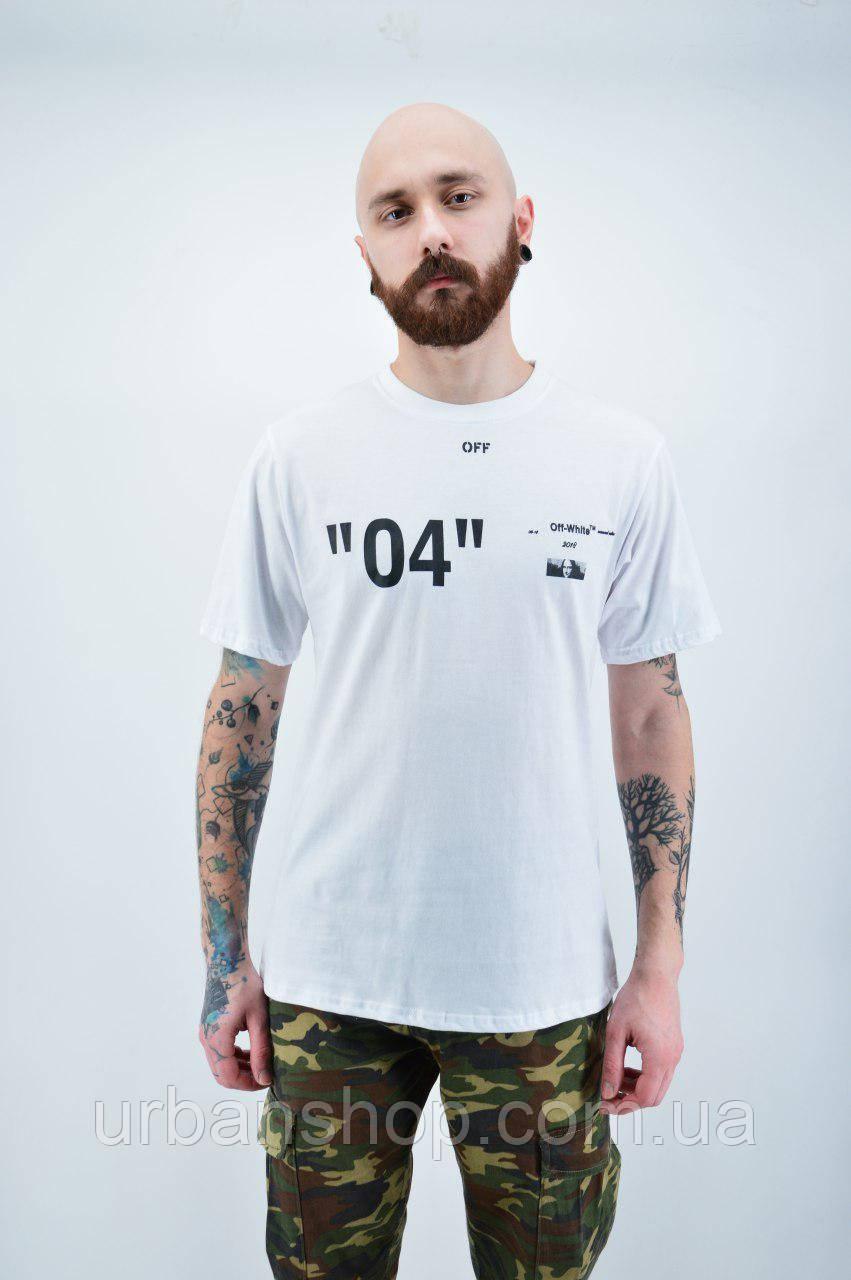 Футболка Off-White white M