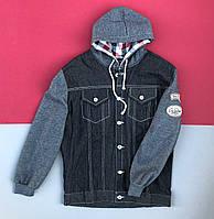 Джинсова куртка XL
