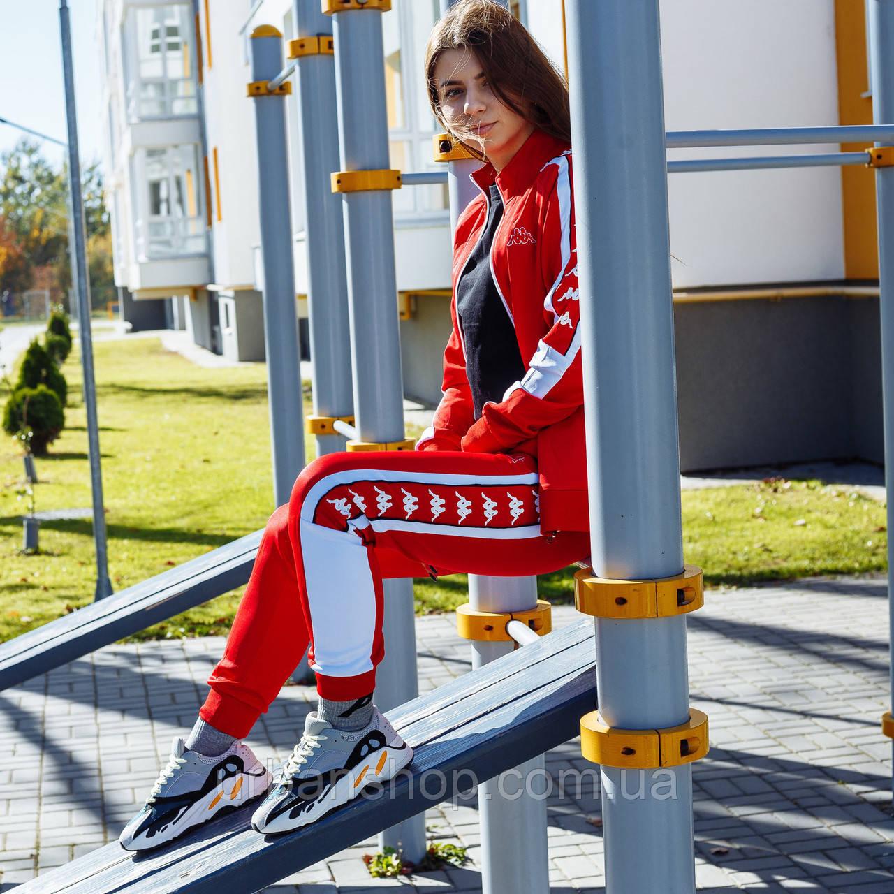 Спортивний костюм Kappa pants red (штани) M
