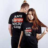 Футболка ASSC Anti Social Social Club X SUPREME XL