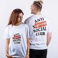 Футболка ASSC Anti Social Social Club X SUPREME L