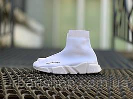 Взуття Balenciaga Speed Trainer SNEAKERS All White