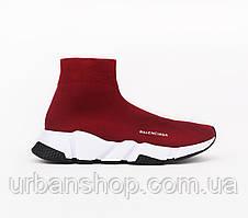 Взуття Balenciaga Speed Trainer SNEAKERS Bordeaux