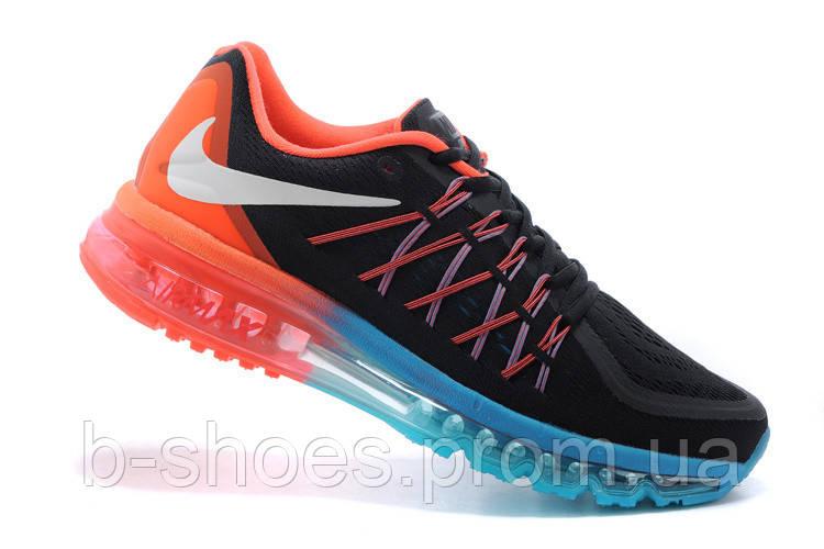 fca140eb70c3 Женские кроссовки Nike Air Max 2015 (Black Orange Blue), цена 1 535 ...