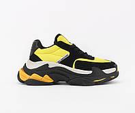Взуття Balenciaga Triple S 2.0 Yellow Black 36, фото 1