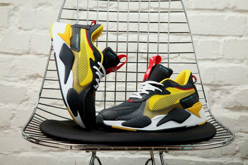 Взуття Puma TRANSFORMERS RS-X Optimus Prime Youth Trainers 38