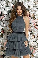 Красивое коктельное платье 5 цветов