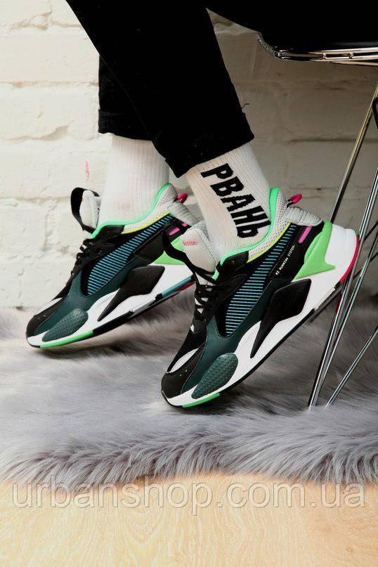 Взуття Puma Rs-x Toys Jr Black 41