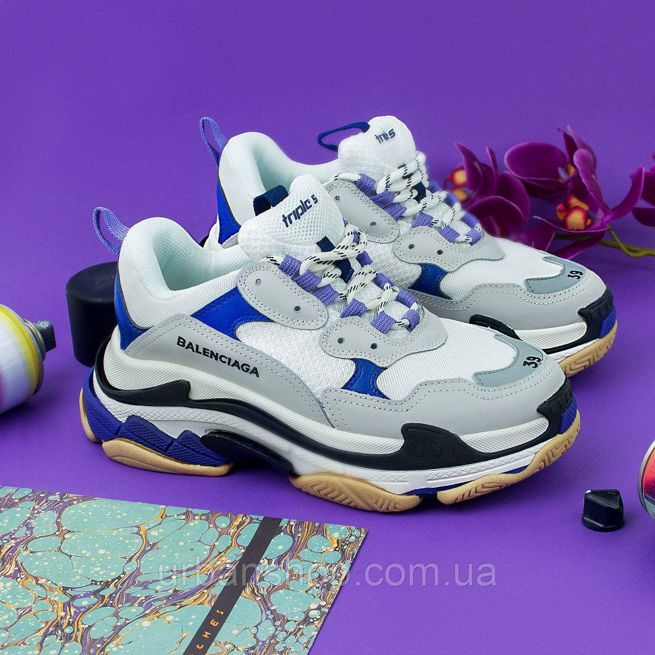 Взуття Balenciaga Triple S 2 light/violet 36
