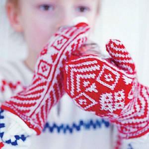 перчатки, варежки детские
