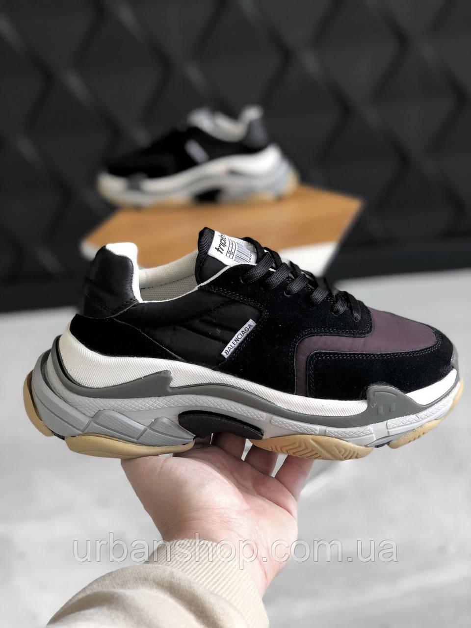 Взуття Balenciaga Tripl s V2 Black Burgundy 36