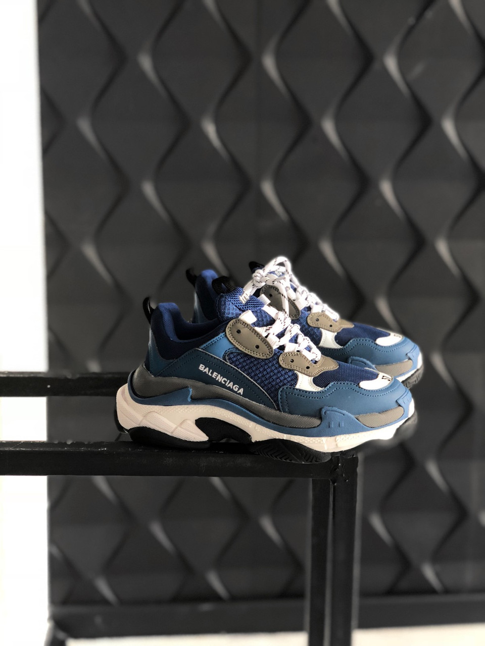 Взуття Balenciaga Triple S Blue 36
