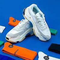 Взуття Balenciaga Triple s V2 White Blue