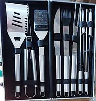 Набор для барбекю 10 предметов в кейсе