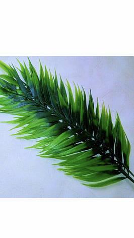 Пластиковый лист папоротника, фото 2