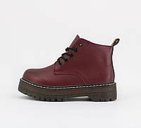 Взуття Boots Platform Bordo Flower Mid