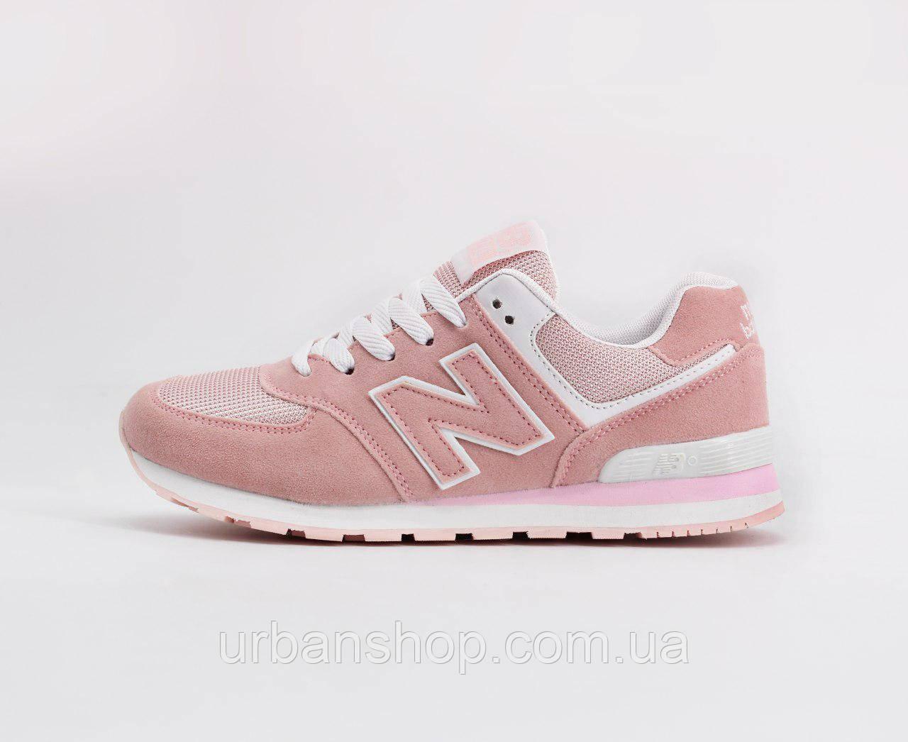 Взуття New Balance 574 Рожеві 36