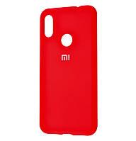 Чехол-накладка Original Silicone case на Xiaomi Redmi Note 7 Red