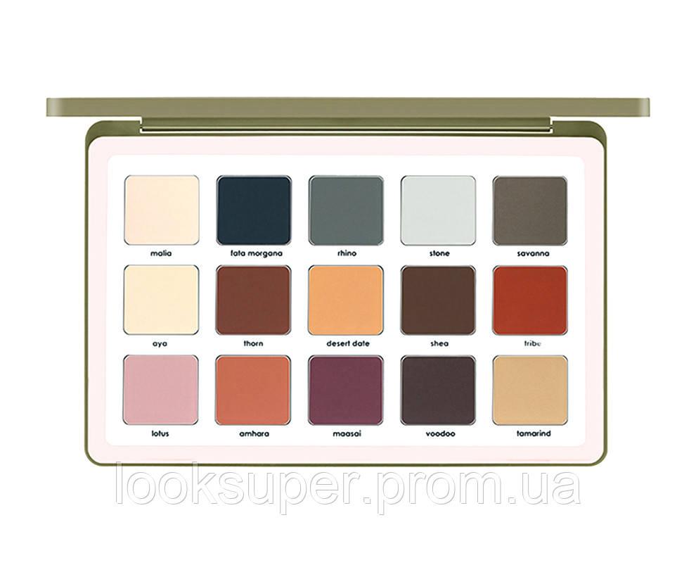 Палитра матовых теней для век NATASHA DENONA Safari All Matte Palette