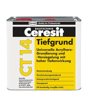 Грунтовка универсальная глубокопроникающая Ceresіt СТ 14 (5 л)