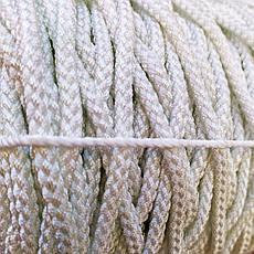 6мм - 100м  - 750кг Белорусская капроновая плетеная  веревка ПА+ПЕ со сроком службы до 50лет, фото 3