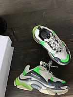 Взуття Balenciaga Tripl S Neon Green 36, фото 1